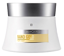 нощен крем злато nano gold