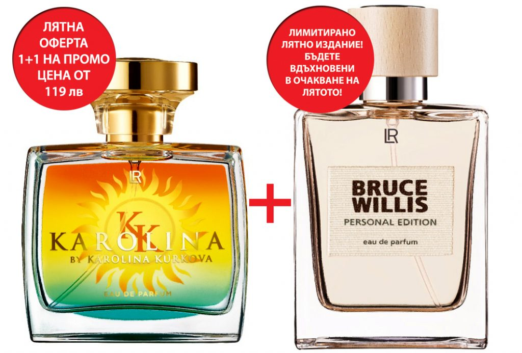 Karolina Kurkova + Bruce Willis summer edition